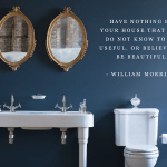 basins with morris quote