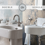 double or single basins