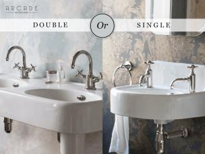 double or single basins