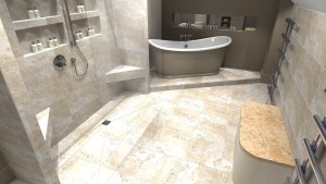 Master EnSuite bathroom design 1 image 2
