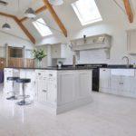Barn conversion handmake in-frame shaker kitchen