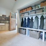 3 - A bootroom is great for storing coats, boots and shoes.