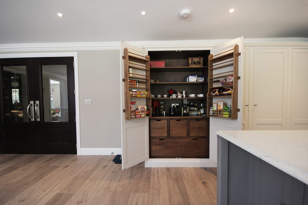 11. The pantry for dry goods.