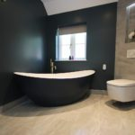 11. Washlet WC's are very popular now. This is the V-Care from VitrA. Geberit WC frame, cistern and flush plate.