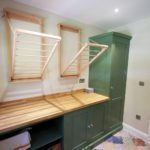 3. Lots of storage in this laundry and utility room!
