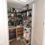 24. A view inside the secret pantry.