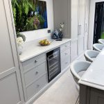 The seamless integration of the Caple wine conditioner (whilst still allowing the required ventilation) is a speciality of ours.
