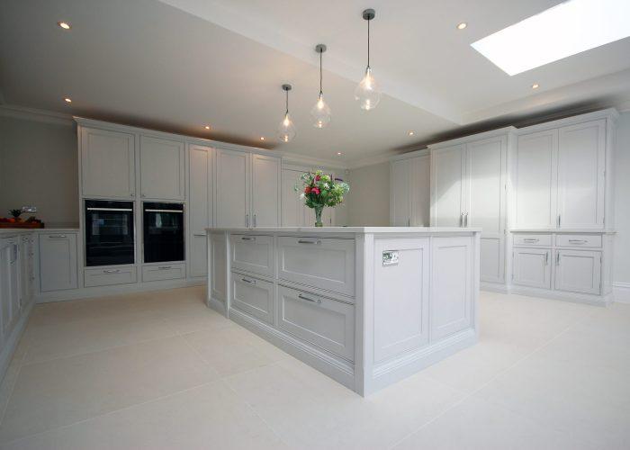 East Molesey large in frame handmade shaker kitchen